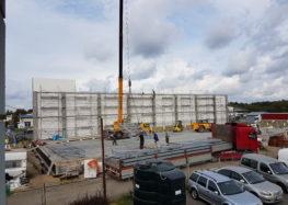 Budowa nowej hali magazynowej Lipiec 2016