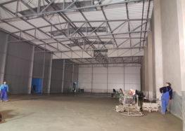 Budowa nowej hali, Październik 2016