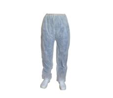 Spodnie z polipropylenu białe     SPP-B-XL