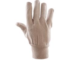 Rękawice Bawełniane Drelichowe Białe RRDB