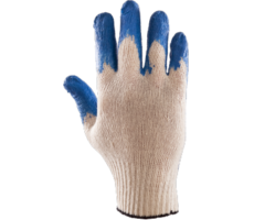 Rękawice POLSTAR POWLEKANE GUMĄ NIEBIESKIE XL (WAMPIRKI)