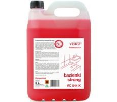ŁAZIENKI STRONG VC 544 K / Zapachowy koncentrat do gruntownego mycia łazienek, sanitariatów i powierzchni kwasoodpornych