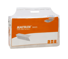Katrin Basic Hand Towel Zig Zag 2 Handy Pack (składane V )