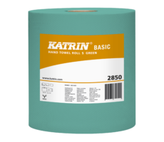 Katrin Basic Hand Towel Roll S Green