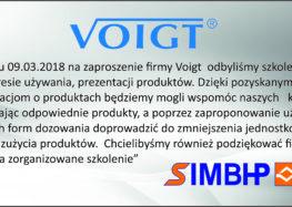 Szkolenie Voigt 09.03.2018