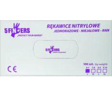 Rękawica nitrylowa RNN-NIEJAŁOWE