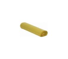 Worki na śmieci LDPE 60 l żółte