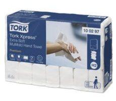 Tork Xpress® bardzo miękki ręcznik Multifold w składce wielopanelowej (100297)