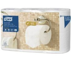 Tork papier toaletowy do dozownika z automatyczną zmianą rolek ekstra miękki Premium – 4 warstwy (110405)