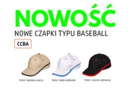 Nowe czapki typu Baseball